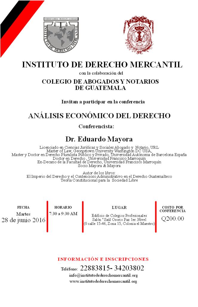 ANALISIS ECONOMICO DEL DERECHO 2016